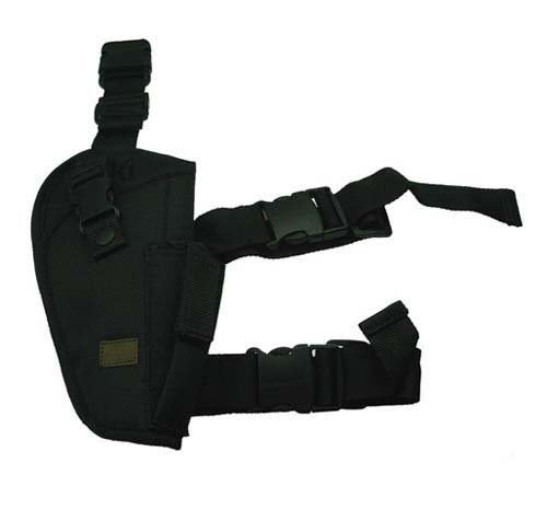 Tactical Elite Style Black SWAT Thigh Leg Pistol Handgun Holster