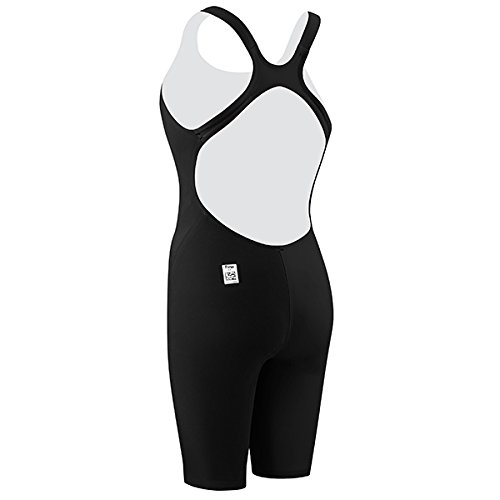 Fastskin Racing Swimwear (SPEEDO LZR Racer Elite 2 Comfort Strap Kneeskin, Black,)