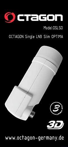 Octagon Optima Oslso Slim Pll Single Lnb 0 1 Db Elektronik