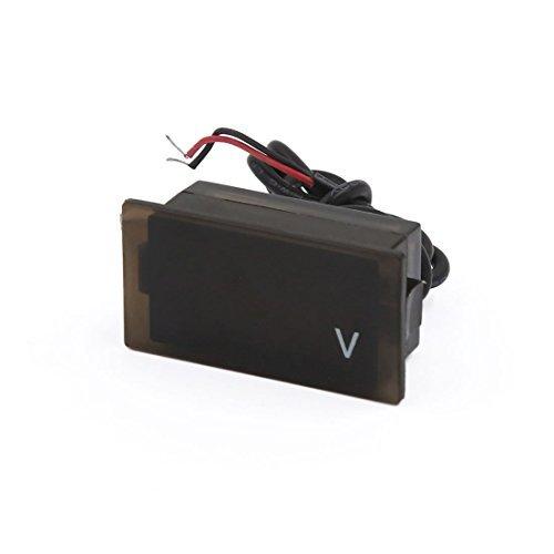 DealMux DC 12V do veculo Motorbike Display LED voltmetro digital de tenso