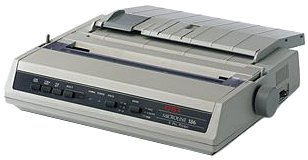 Oki MICROLINE 186 Dot Matrix Printer (62422301) by OKI