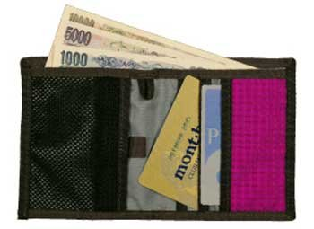 モンベル 財布 カード コイン 画像11