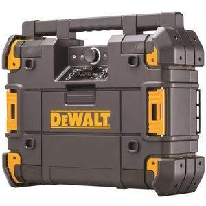 DEWALT TSTAK Jobsite Radio & Battery Charger, Bluetooth - 18 Dewalt Radio Volt