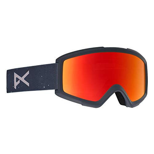 Anon Helix 2.0 W/Spare Snow Goggles One Size Rush/red Solex