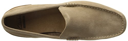Clarks Mens Medly Sun Taupe Suède