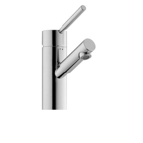 Jado 814/201/100 Borma Single Lever Single Hole Lavatory Set, Polished Chrome