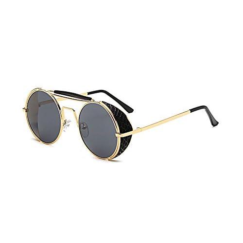 8cdef75065 Outlet Hellomiko Gafas de sol protectoras UV400 no polarizadas de la  vendimia retro Gafas de sol