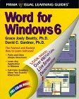 Word for Windows 6, David C. Gardner and Grace J. Beatty, 1559583959