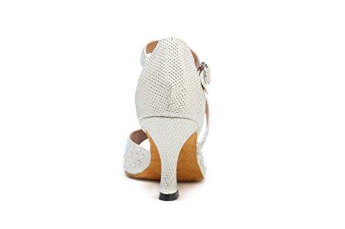 Miyoopark 5cm 7 Salle femme de Heel bal Silver gRFqgYrx8w