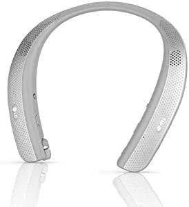 LG Tone Studio HBS-W120 - Wearable Personal Speaker - Titan Gray