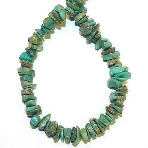 - NG2760fd Green Turquoise Small 4mm - 8mm Gemstone Chip Beads 15