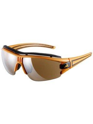 Herren Sonnenbrille adidas Sport eyewear Evil Eye Halfrim Pro S neon orange