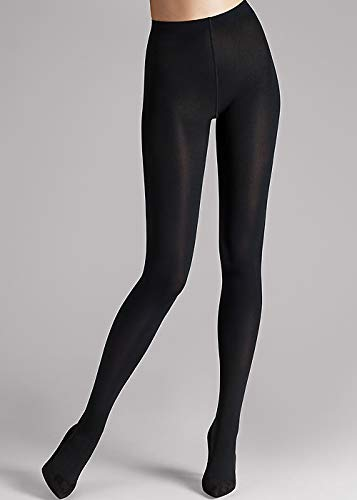 (Wolford Women's Matte Opaque 80 Tights Black Small)