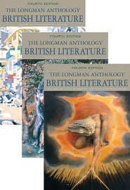 Longman Anthology of British Literature, Volumes 2A, 2B, and 2C, The 4th (forth) edition Text Only