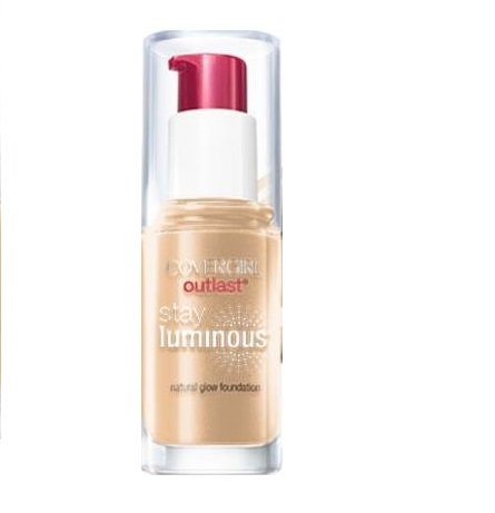 ONLY 1 IN PACK Covergirl Outlast Stay Luminous Foundation, 820 Creamy Natural