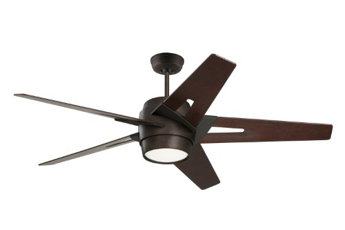 Emerson Ceiling Fans CF550DMORB Luxe Eco Modern Ceiling Fan With Light And Wall Control, 54-Inch Blades, Oil Rubbed Bronze Finish