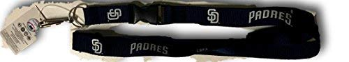 - MLB San Diego Padres Team Color Lanyard, 22-inches, Blue