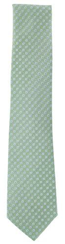 Light Spot Outline Blue Tie Silk Green with Rfqw77
