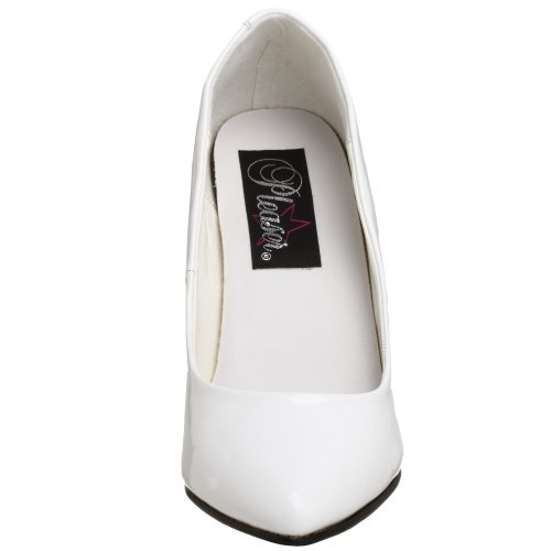 420 Pleaser Vanity Femme Blanc Escarpins AwF8q