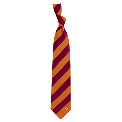 Eagles Wings Virginia Tech University Regiment Woven Silk - Tie Woven Virginia