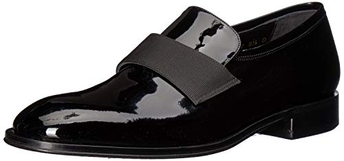 Allen Edmonds Men's Ambrosio Loafer, Black Patent, 11 D US