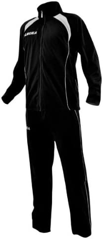 traje chandal Legea Vento Tuta Microfibra, blanco y negro, T039 ...