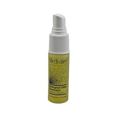Bard Medi Aire Biological Odor Eliminator Lemon Scent 1 Oz Spray Air Freshner - Model 7000l by Bard Medical Division