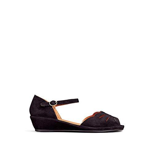 Gentle Souls Footwear Gentle Souls by Kenneth Cole Women's Lily Moon Wedge Pump, Black, 7.5 M US price tips cheap