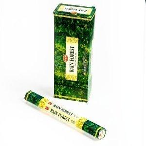 New: Hem Rainforest Hexa Incense Stick , 6 Packs X 20 Sticks = 120 Sticks