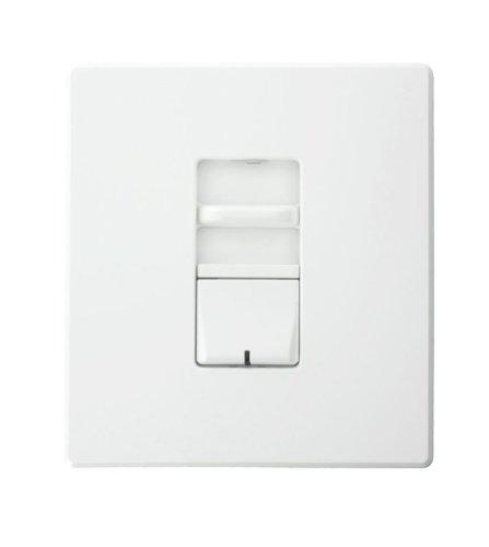 Leviton AWSMT-EBW Preset Slide, Thin Heat Sink, Electronic Low Voltage, Renoir II Wide Dimmer, White by Leviton