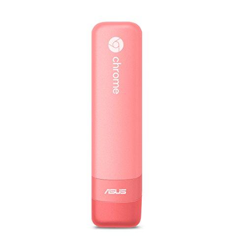 ASUS CHROMEBIT-K035C Pink Chromebit HDMI Stick Computer with RockChip 3288-C Processor and Chrome OS (PC, 16G Storage, 2G LPDDR3-1600, 802.11AC WiFi, Bluetooth 4.0, USB 2.0)