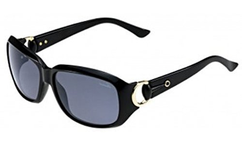 Gucci GG3610/S Sunglasses-0D28 Shiny Black (BN Dark Gray Lens)-60mm by Gucci