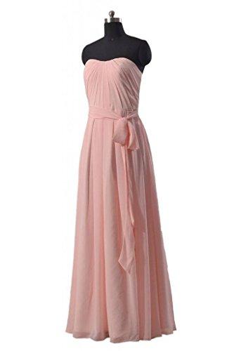 Daisyformals Semi-chérie Robe De Demoiselle D'honneur Longues Femmes Robe De Soirée (bm550) # 19 Blush Rose