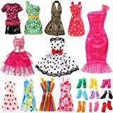 "Set for 11"" Ba-Girl Fashion Dolls Clothes Accessories"