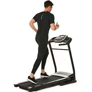 Aceshin Running Machine, Folding Treadmill Home, Fitness Motorized Treadmills, Smartphone APP Control, Bluetooth, Top Speed 12 KM/H, 12 Pre-Set Training Programs (US Stock)