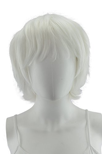 White Short Wig 13 Inches