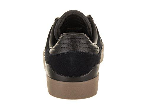 Adidas Mens Busenitz Vulc Rx Skatesko Kjerne Svart / Kjerne Svart / Gummi