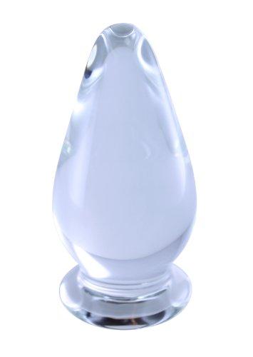 "UPC 616641622657, GlassToys 4"" Clear Glass Anal Plug"
