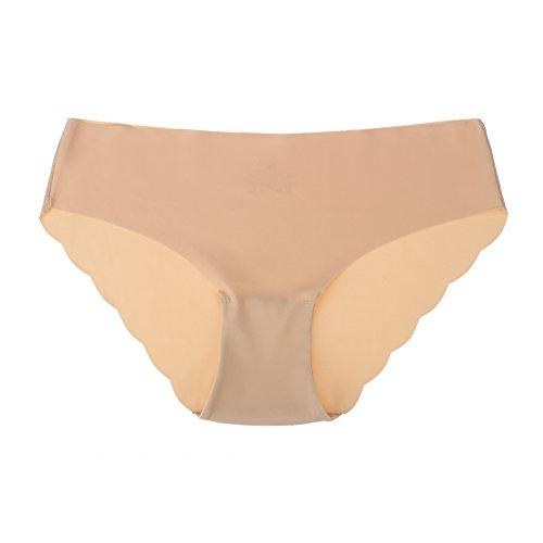 Aedo Senza Donna Slip Cuciture Vita Confezione Semplice e Invisible da Mutanda Confortevole Intima Bikini Donna Mutanda Bassa Femminili Bianco 3 Biancheria da rq70wXxPr4