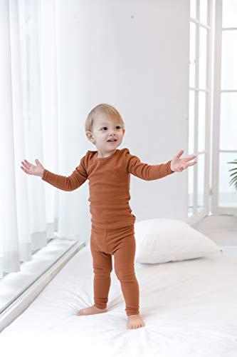 AVAUMA Baby Unisex Pajama Set 6M-8T Boys Girls Snug fit Pjs Soft Cotton Cute Kids Toddler Sleepwear