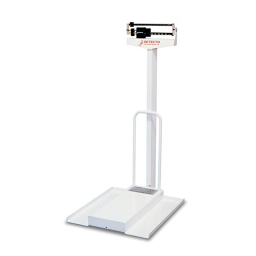 Mechanical Wheelchair Scale, 350 lb x 4 oz