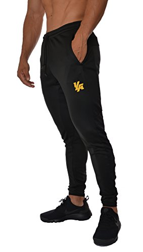Training pants tapered fit 5 colors Medium All Black ()