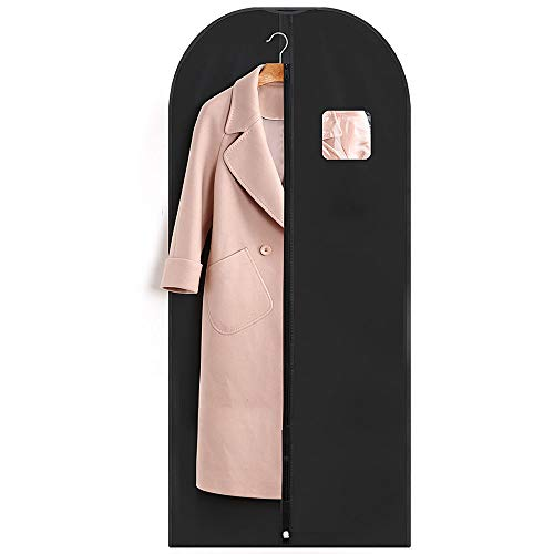 Titan Mall Suit/Long Dress Garment Bag Black Robe Garment Bag (24