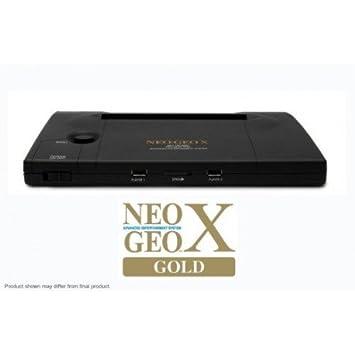 SNK Playmore Neo Geo X sistema de edición limitada Gold + Mega Pack Coin Op Retrogames