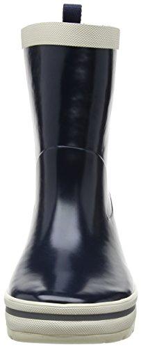 Helly Hansen Junior Midsund Welly, Unisex Kids' Rain Boots Blue - Blau (597 Navy/Off White/Silver Refl)