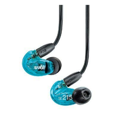 - HATCHMATIC SE215 Hi-fi Stereo Noise Canceling 3.5MM SE 215 in Ear Earphones with Separate Cable Headset Retail Box Noise Cancelling Bass: Blue