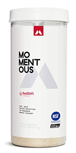 Cheap RedShift Grass-Fed Whey Protein Isolate, Gluten-Free, NSF Certified, Endurance Post-Workout Protein Powder for Men and Women – Momentous Parent (Fruit Punch)