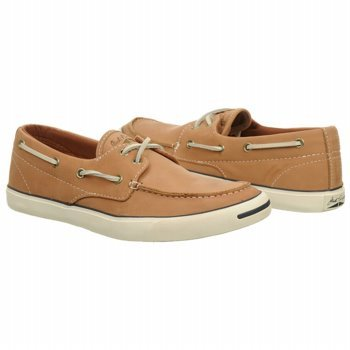 3d0013e6762a Converse MENS JACK PURCELL OX LEATHER BOAT STYLE  136647C-BROWN SIZE  9.5 M