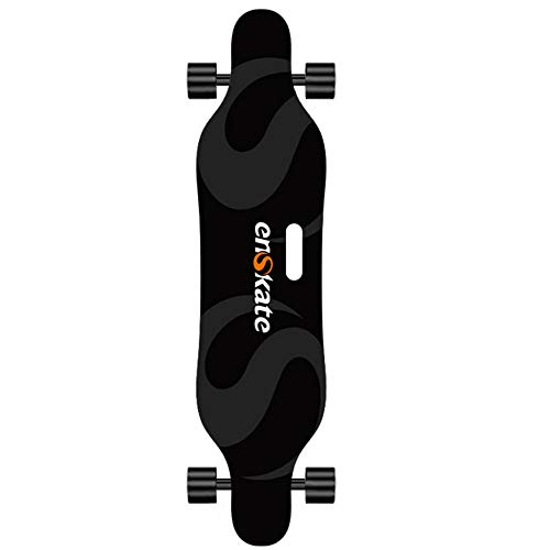 enskate Electric Skateboard - Powerful Motorized Longboard 37'', Dual Motor 600W2, Max 22 MPH, Shockproof Enhance Convex Deck Electronic Skate Board with Remote