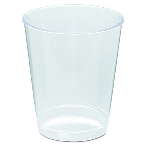 (WNA T8T Comet Plastic Tumbler, 8 oz., Clear, Tall (Case of 500) )